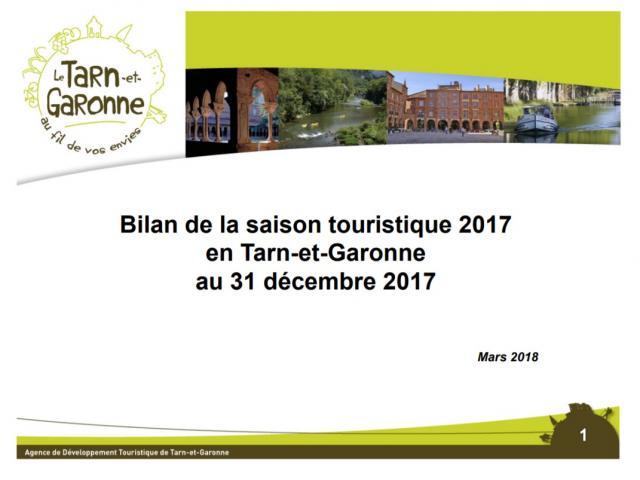 Bilan Touristique Saison 2017