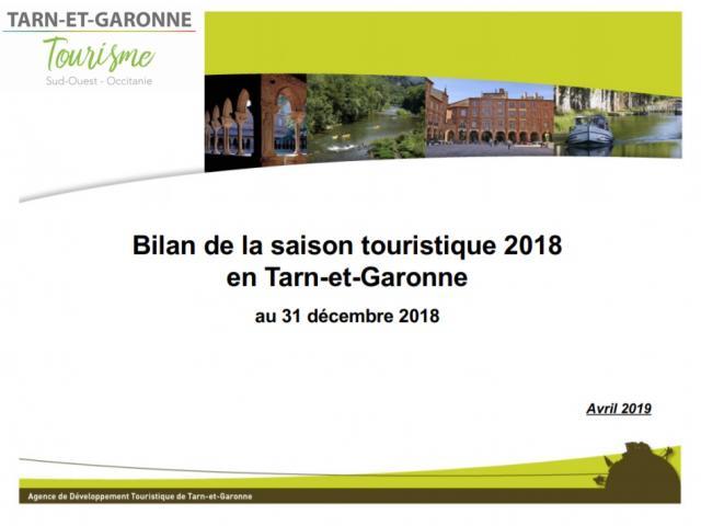 Bilan Touristique Saison 2018