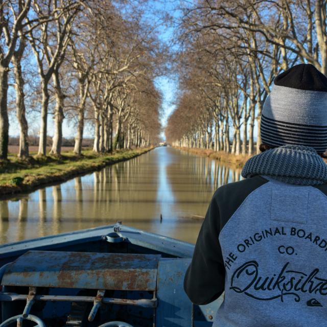 Le voyage d'Altaïr sur le Canal de Garonne