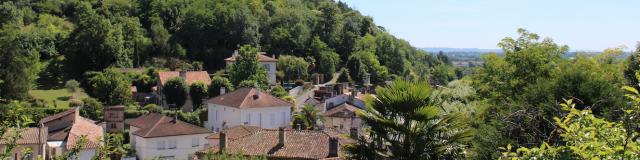 Vue Sur Moissac Du Carmel