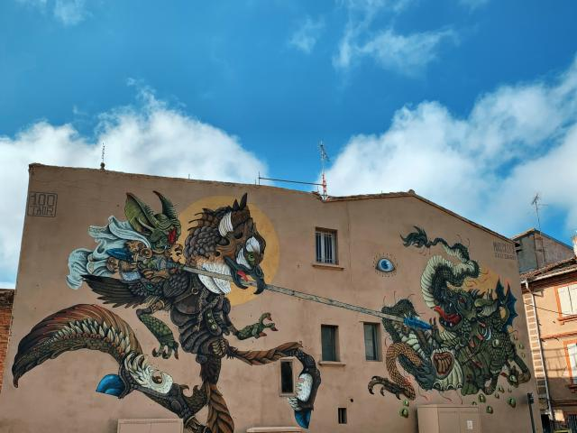 Street Art Montauban 100taur