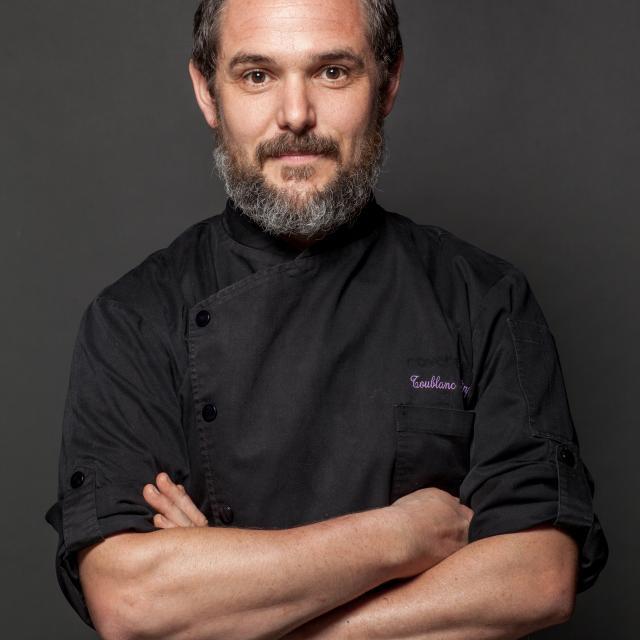 Philippe Toublanc, chef du restaurant au dix 31