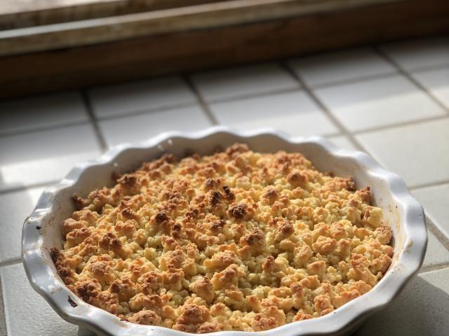 Crumble Pomme Chasselas