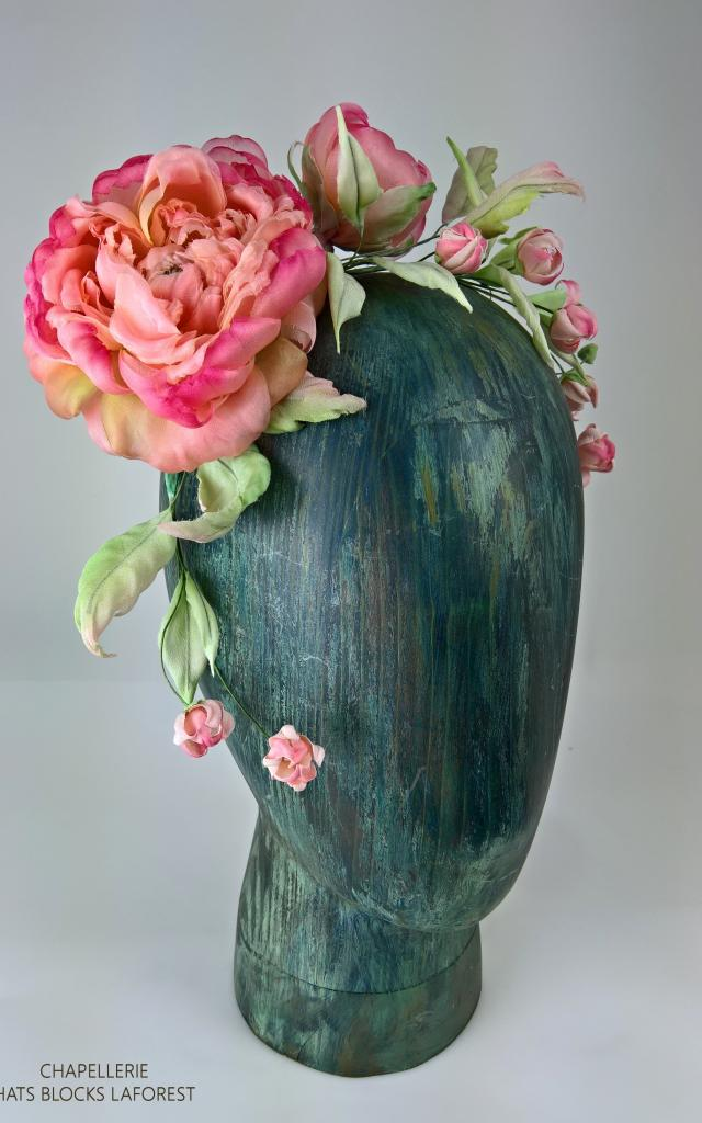 Hats Block Laforest Fleurs