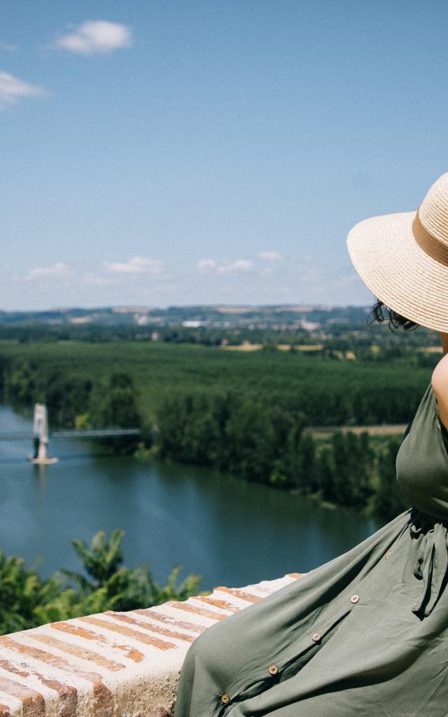 Hauteurs d'Auvillar en Tarn-et-Garonne