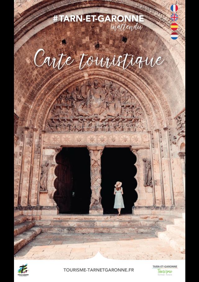 Carte Touristique 2021 Tarn-et-Garonne