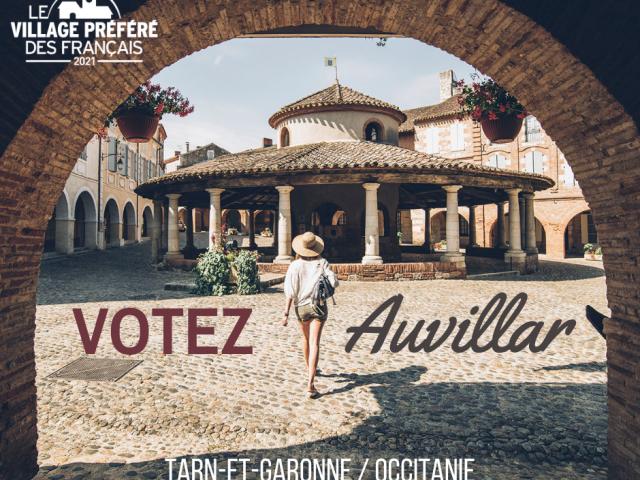 Auvillar village préféré des français