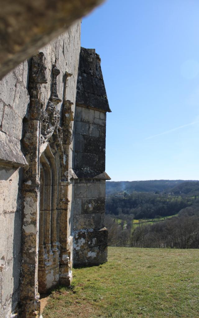 Chapelle Notre Dame Des Graces Vue