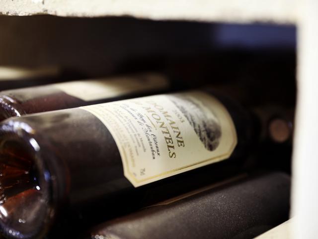 Bouteilles de vin domaine de Montels