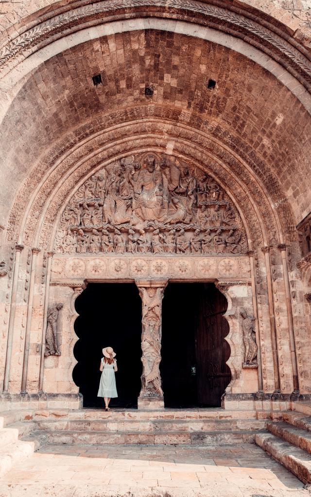 Tympan de l'Abbaye de Moissac