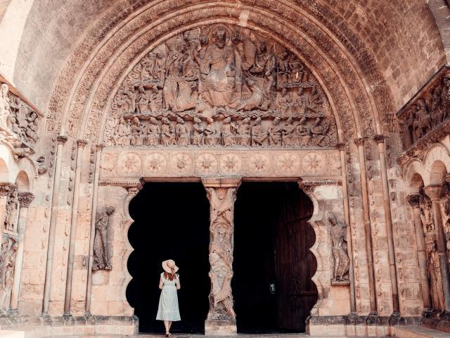 Le Tympan de l'Abbaye Saint-Pierre de Moissac