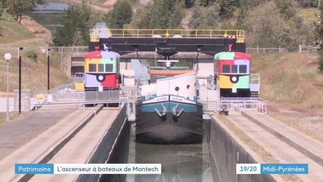 France 3 Pente D'eau De Montech