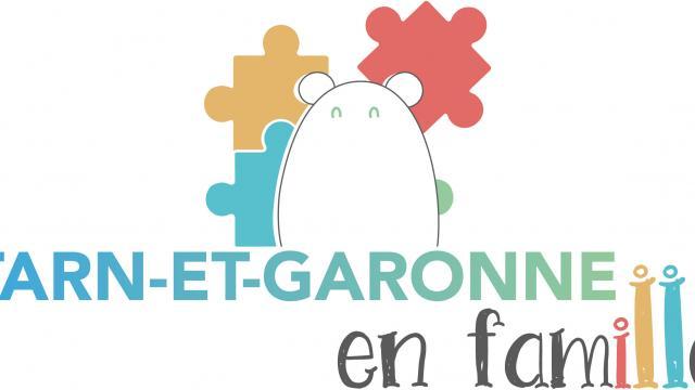Logo Tarn-et-Garonne en Famille