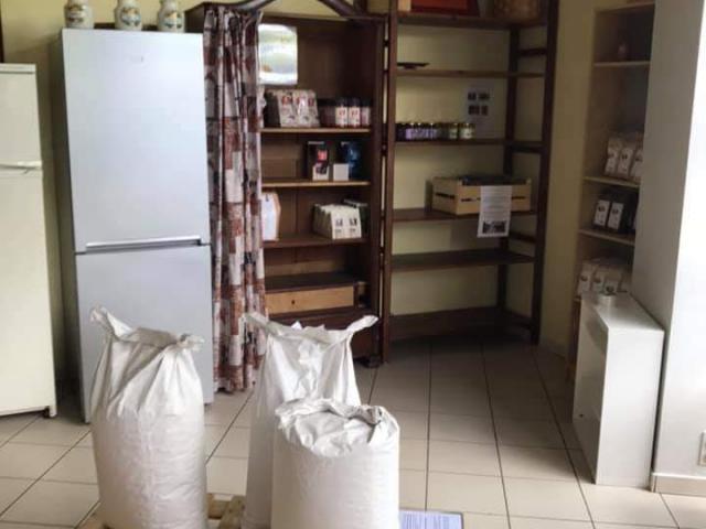 Le Ptit Kiosque - local de l'épicerie