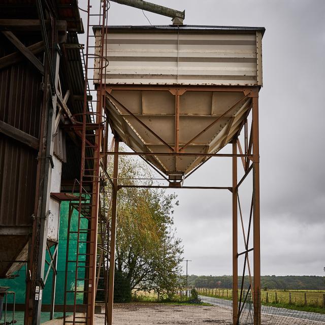 Ferme de Romainville - silot à grain