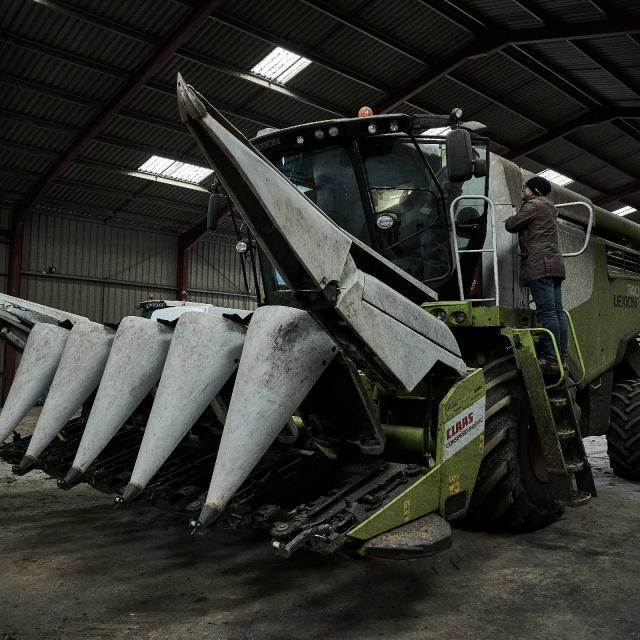 Ferme Trubuil - tracteur