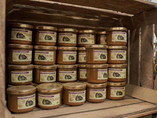 Ferme Trubuil - caviar d'aubergine