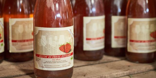 Ferme Trubuil - Pétillant de fraise