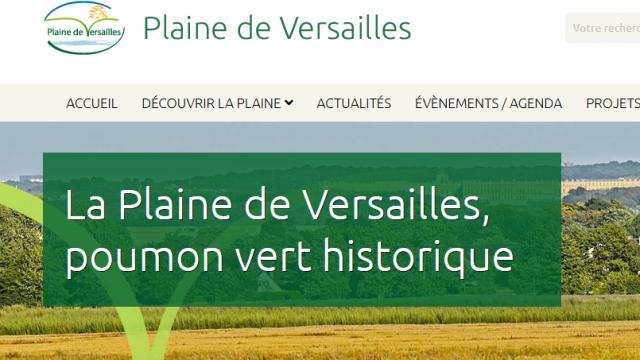 Site internet Plaine Versailles