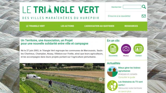 Site internet Triangle Vert