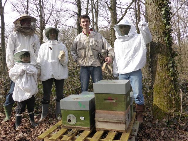 AMAP Le panier des Hameaux - apiculture