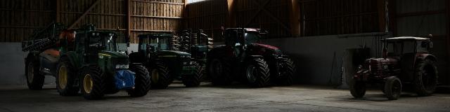 Ferme Du Trou Salé - tracteurs