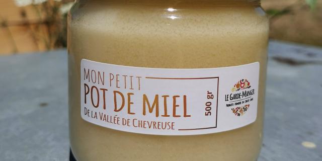 Ferme de Romainville - Pot de miel de la ferme