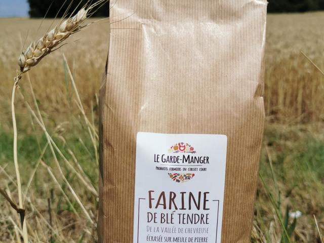 Ferme de Romainville - Paquet de farine de la ferme