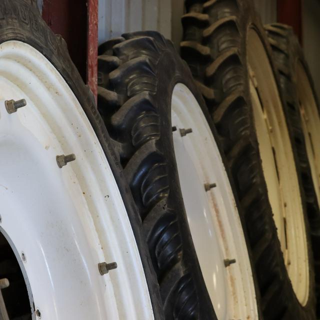 Arvalis - Institut du végétal - roues de tracteur