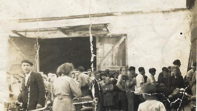 Ferme de Romainville - Vente de légumes aux parisiens pendant la guerre, 1940