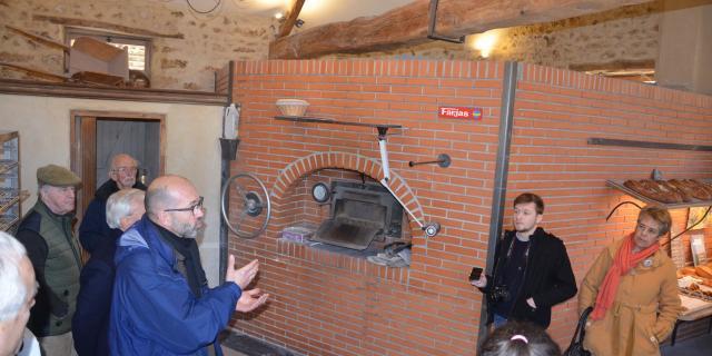 Visite du Fournil Vandame - Four boulanger à bois - Produits locaux - Villiers-le-Bâcle