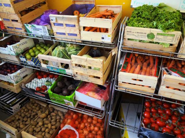 ELSE - étal de fruits et légumes