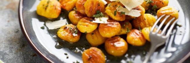 Gnocchis De Butternut Au Parmesan