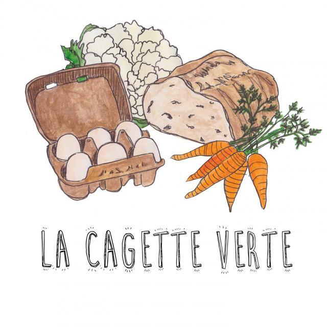 La Cagette Verte - Logo