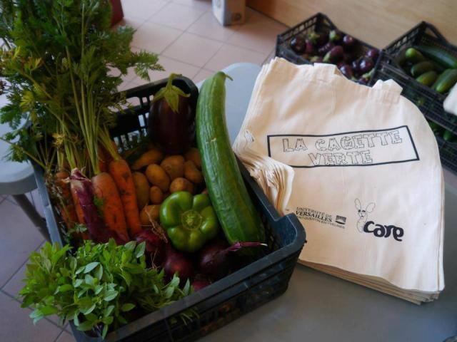 La Cagette Verte - Panier de légumes