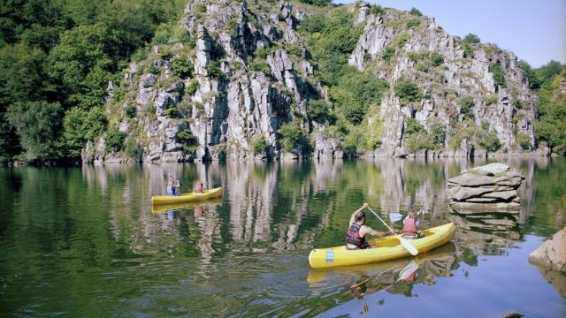 Activité Canoe Au Coeur De La Vallée Des Peintres ©poc, La Creuse