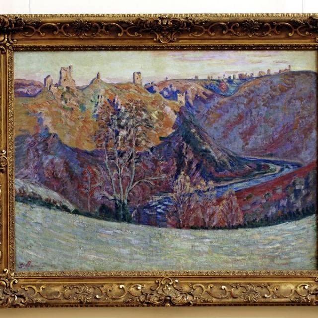 Exposition Peintures Impressionnistes ©j.damase, La Creuse