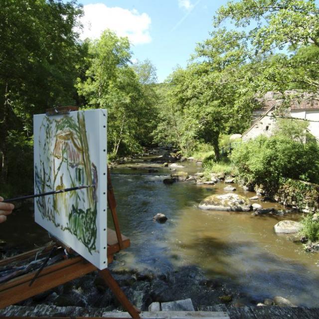 Peintres De La Vallée De La Creuse ©poc, La Creuse
