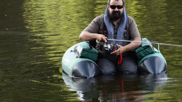 Float Tube pêche en Creuse