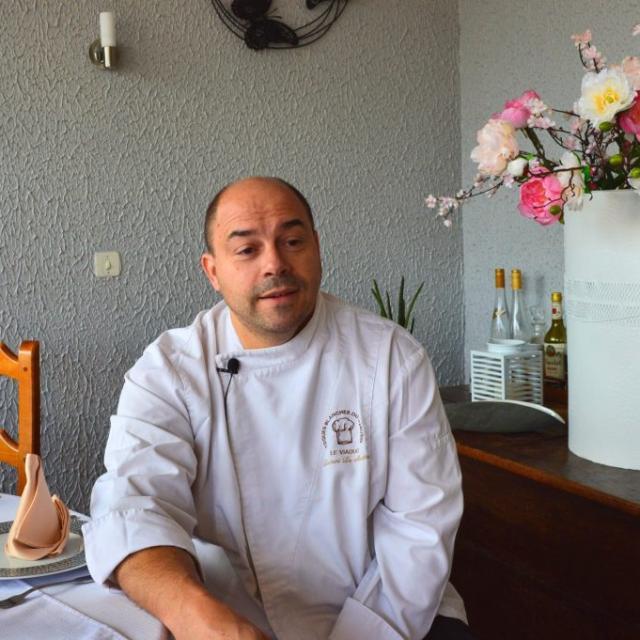 Laurent Le Mestre, Restaurateur Creusois Toque Blanche Du Limousin