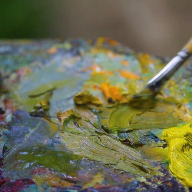 Stage de peinture en Creuse