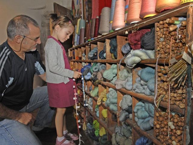 Initiation à la tapisserie d'Aubusson - Eté 2007 - Creuse en Famille