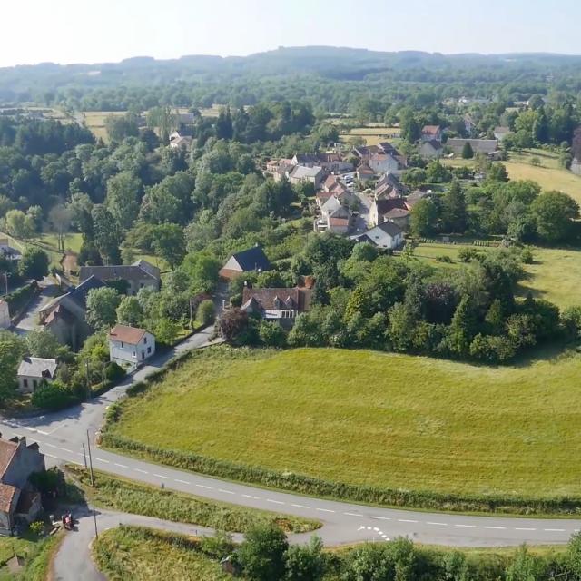 Village de Toulx Ste Croix