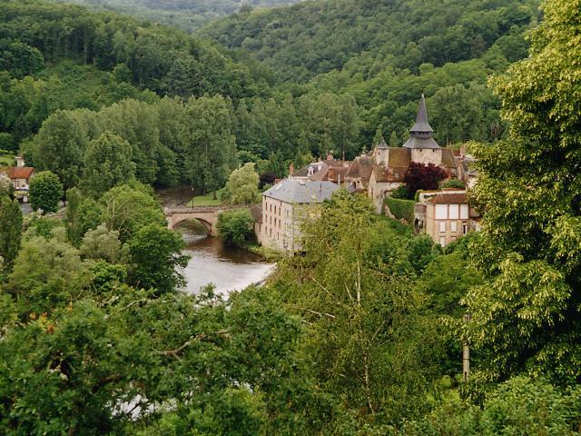 Paysage La Celle Dunoise La Creuse