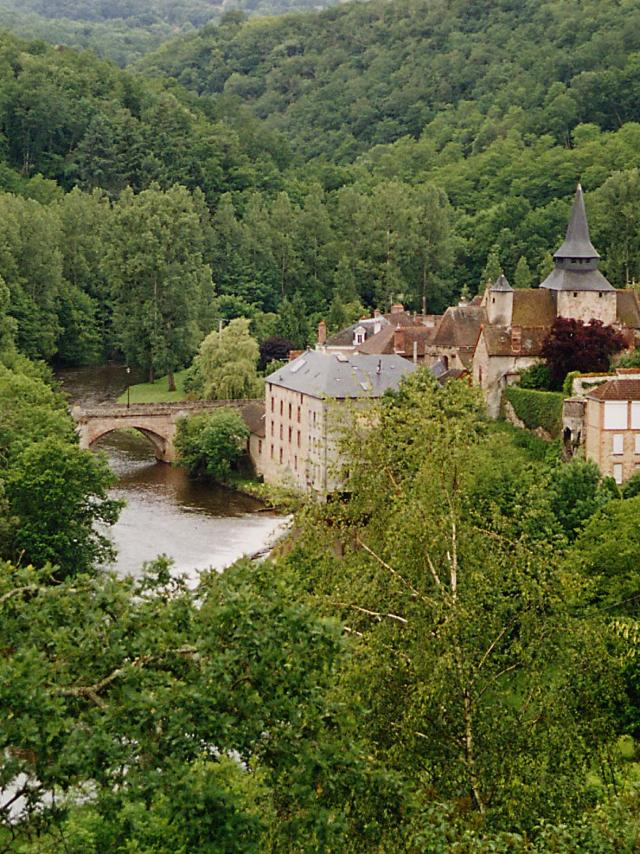 Village de La Celle Dunoise