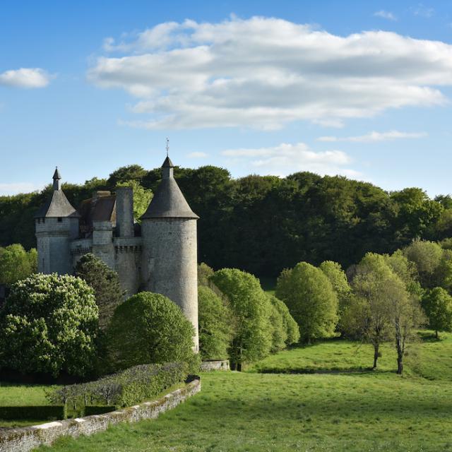 Château de Villemonteix à Chénérailles