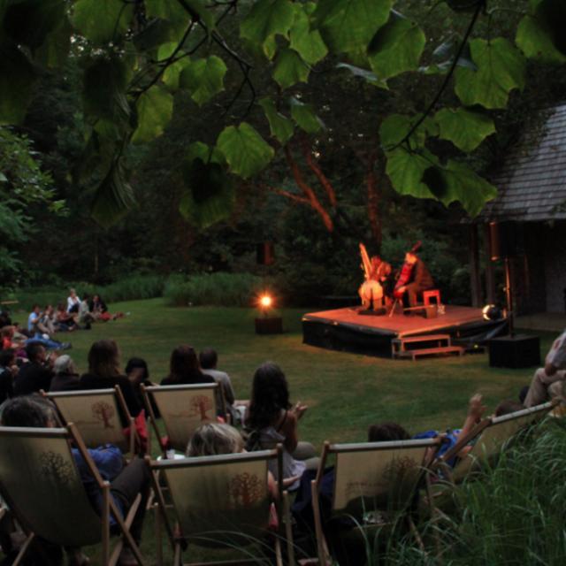 Concert Au Milieu De Cet Amphithéatre Naturel, La Creuse