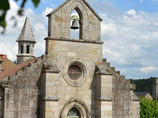 Chapelle Notre Dame de la Visitation à Crocq dans la Creuse