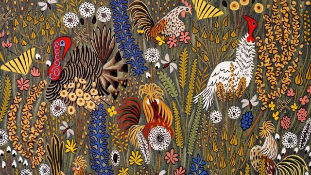 Mille Fleurs Sauvages, Une Tapisserie À Retrouver Avant Ou Après Un Concert