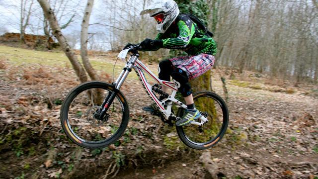 Vtt Descente Jump, La Creuse